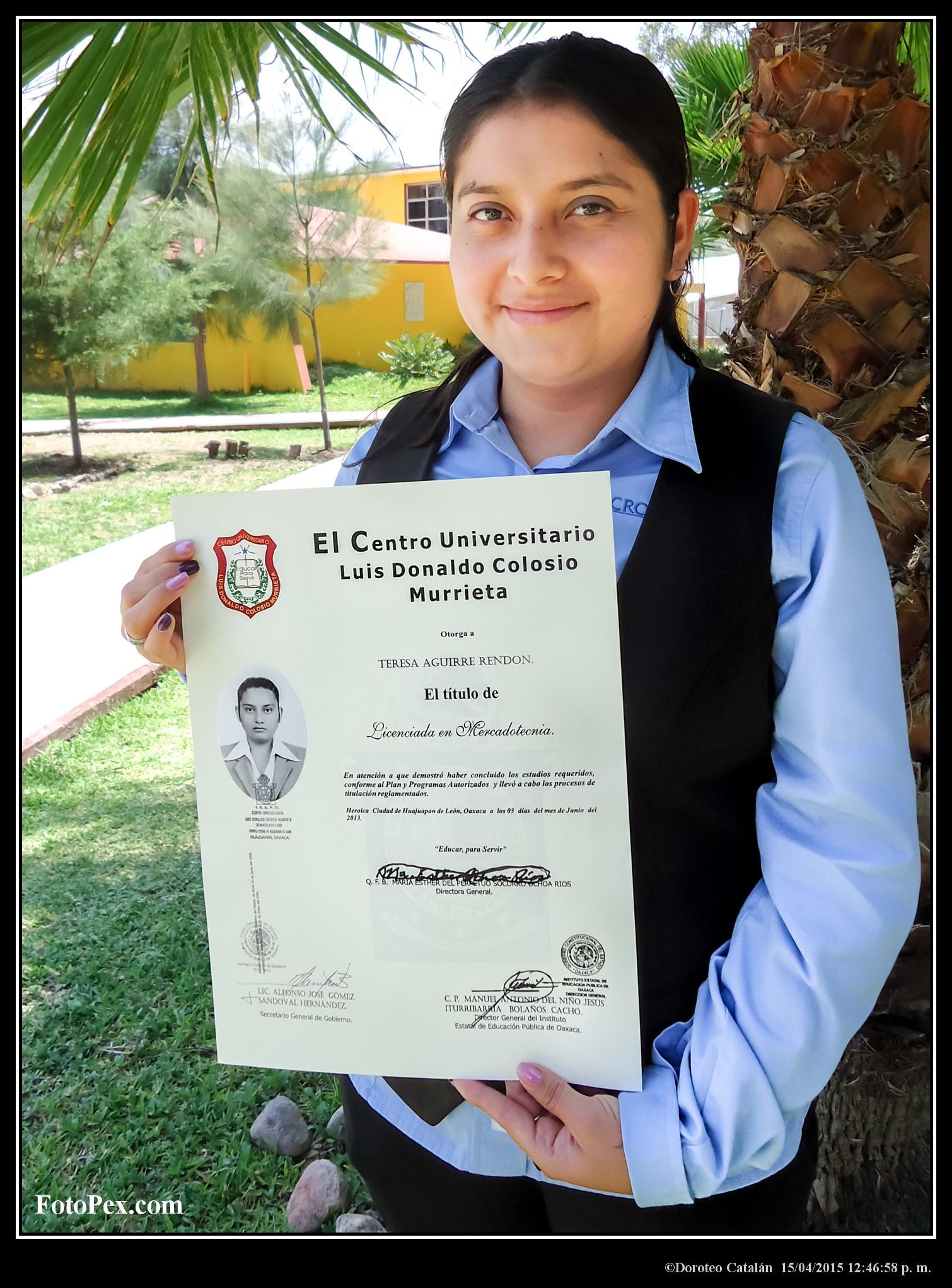 Lic. Teresa Aguirre Rendón