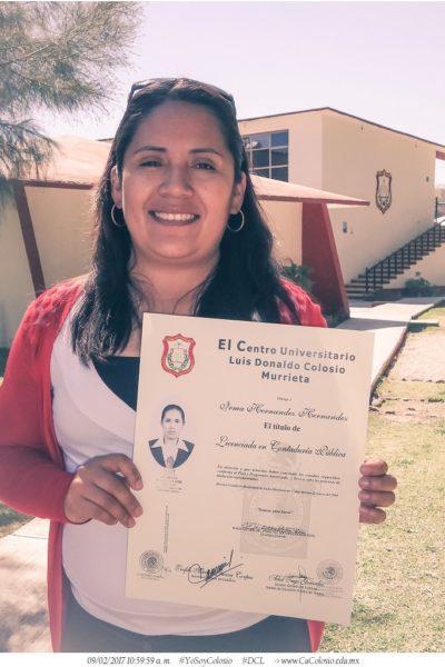 Lic. Irma Hernandez Hernandez